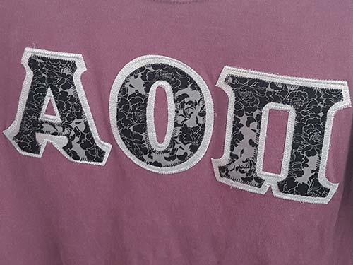 Custom Greek Apparel - t-shirts, hoodies and jackets